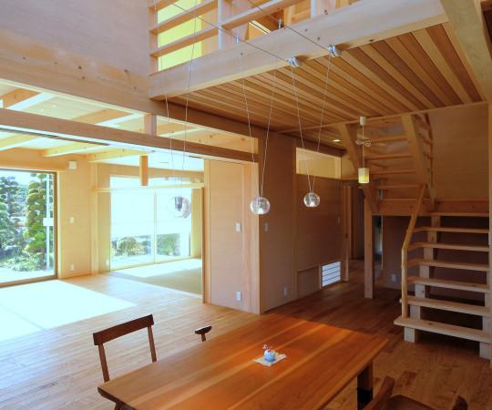 自然と融合する家