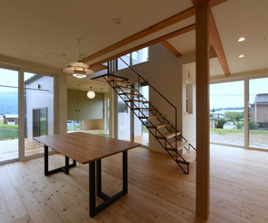 ツインデッキの家 オープンハウス