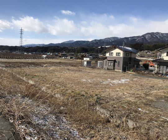 高森町飯田線沿線で住宅用地