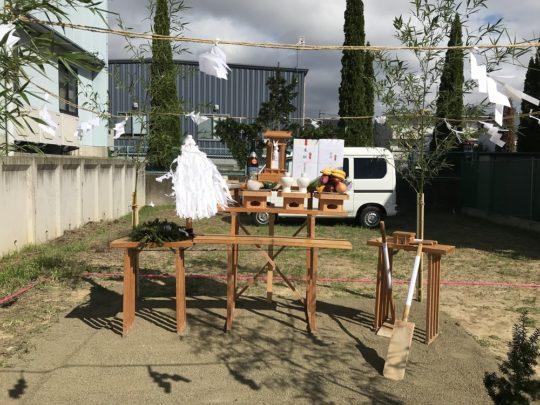 青木島の家 地鎮祭
