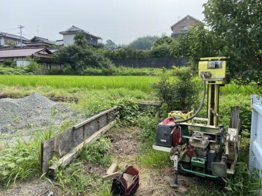 豊丘の家 地盤調査