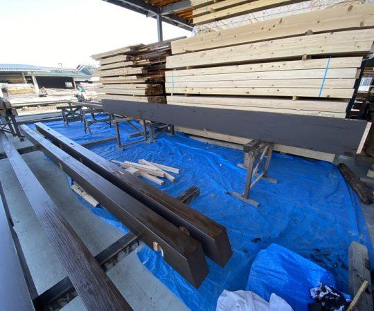 木部塗装自営工事